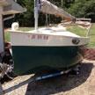 1986 PeepHen 14 sailboat