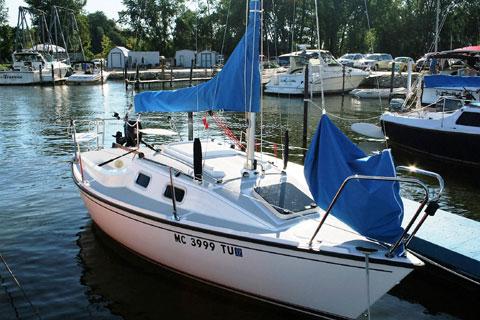 Precision 18, 2013 sailboat