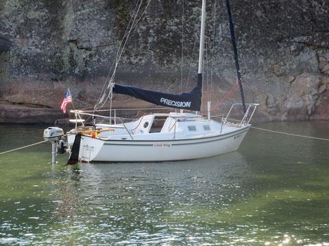 Precision 18, 2003 sailboat