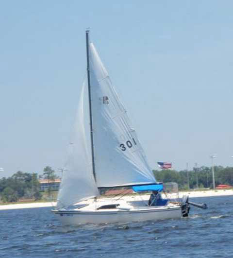 Precision 18, 1989 sailboat