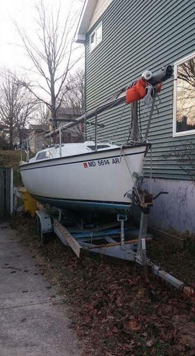 Precision 23, 1987 sailboat