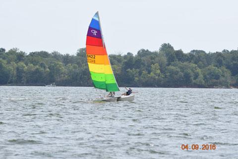 Prindle 16 catamaran, 1985 sailboat