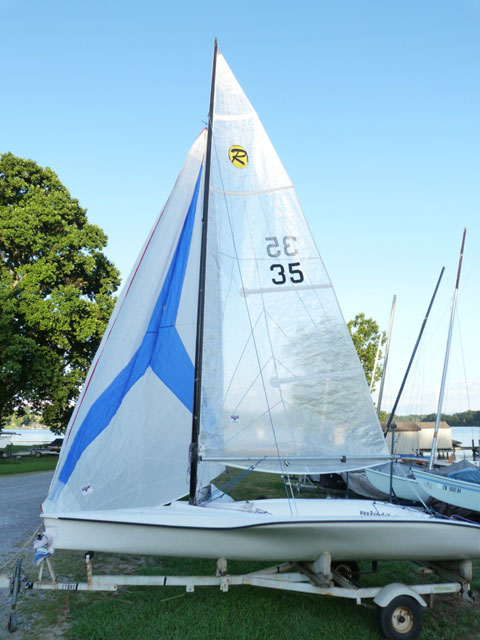 Raider Sport 16, 2003 sailboat