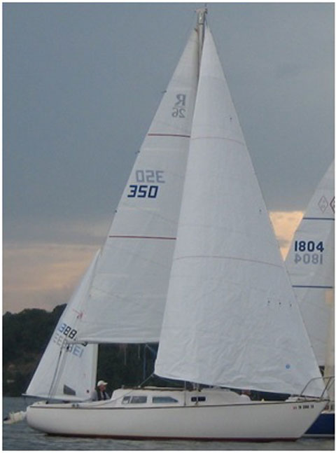 Ranger 26, 1972 sailboat