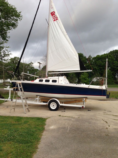 Rhodes 22, 1988 sailboat
