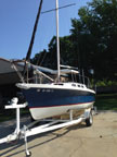 1988 Rhodes 22 sailboat