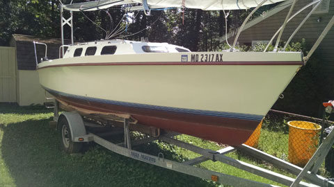Rhodes 22, 1990 sailboat