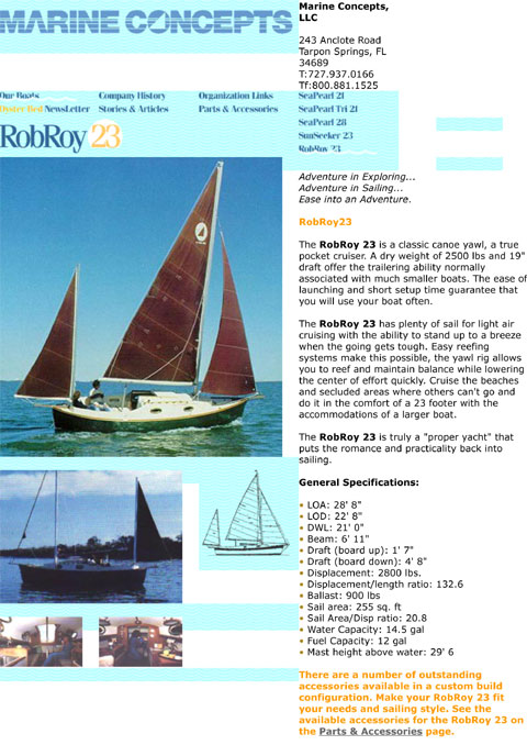 Rob Roy 23, 1987 sailboat