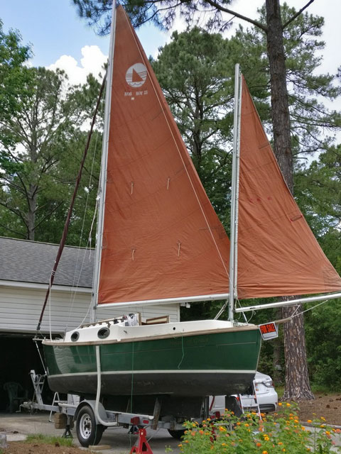 Rob Roy 23 Canoe Yawl, 1984 sailboat