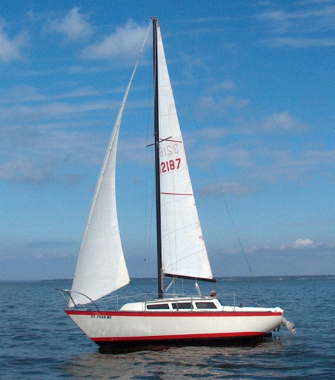 S2 7.3 (24 ft.), 1978 sailboat