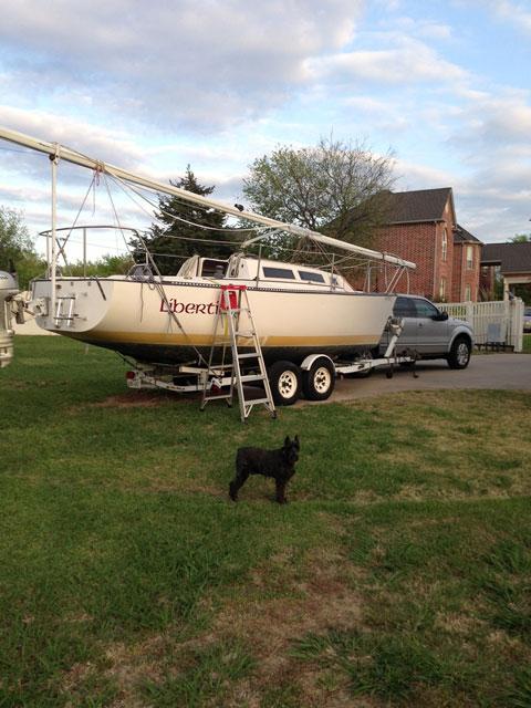 S2 Grand Slam 7.9, 1982 sailboat