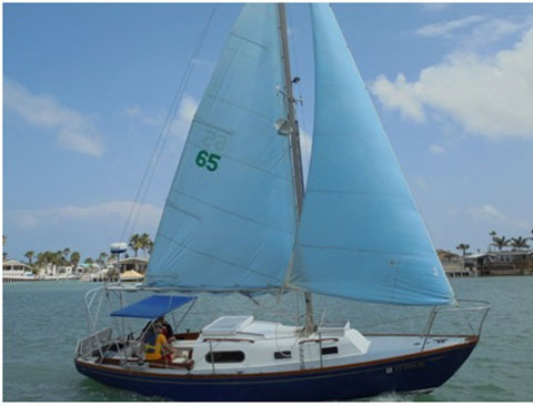 Sailmaster 26, 1965 sailboat