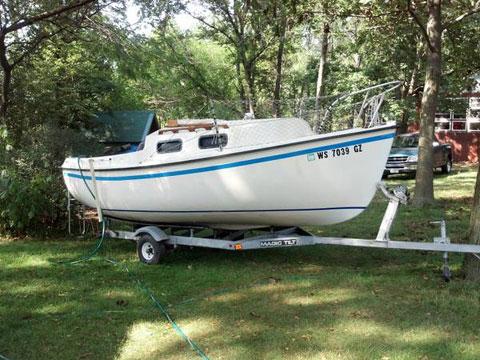 Sanibel 17 (Commodore 17) Shore Bird, 1984 sailboat