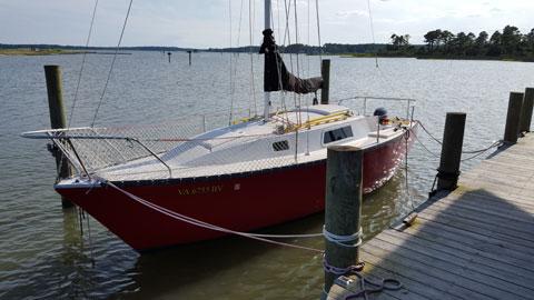 San Juan 26, 1977 sailboat