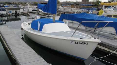 Schock Santana 21 Swingkeel, 1972 sailboat