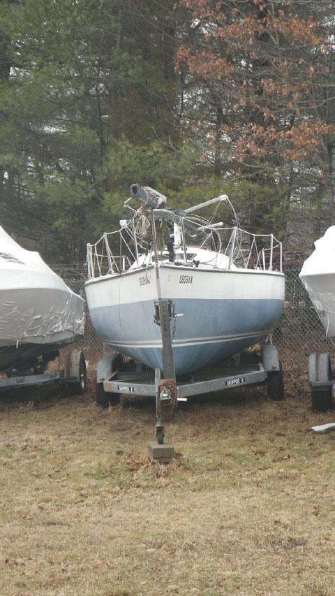 Santana 23D, W.D. Schock, 1981 sailboat