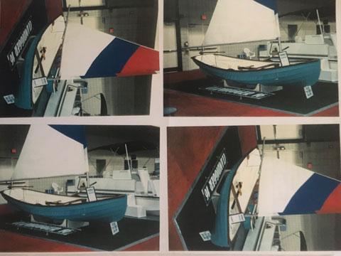 Sea Bright Dory, late 90s, 16.5 ft., sailboat