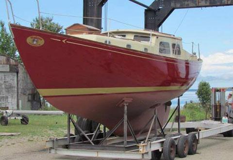 Seafarer 36, 1965 sailboat
