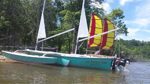 Sea Pearl 21' Trimaran, 1999 sailboat