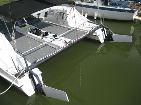 SeaWind 24 foot Catamaran, 1985 sailboat