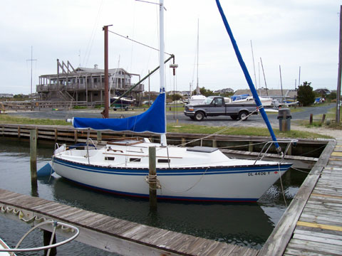 Seidelmann 245, 1984 sailboat