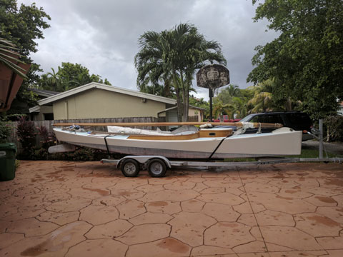 Westphal Racing Sharpie, 2010 sailboat