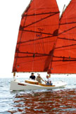 2010 Westphal Racing Sharpie sailboat
