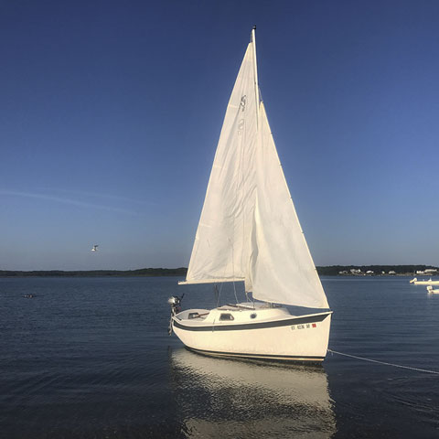 Slipper 17', 1984 sailboat
