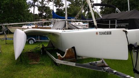 Multi 23 trimaran, 2008 sailboat