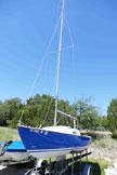 1965 South Coast 21 sailboat