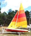 1983 Starwind Buccaneer 18 sailboat