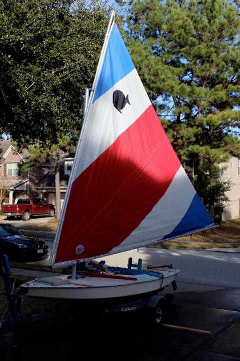 AMF Sunfish, 1978 sailboat