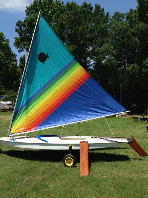 AMF Sunfish, 1975 sailboat