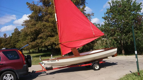 Swifty 14 sailboat