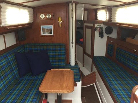 Tartan 30C with trailer, 1974 sailboat