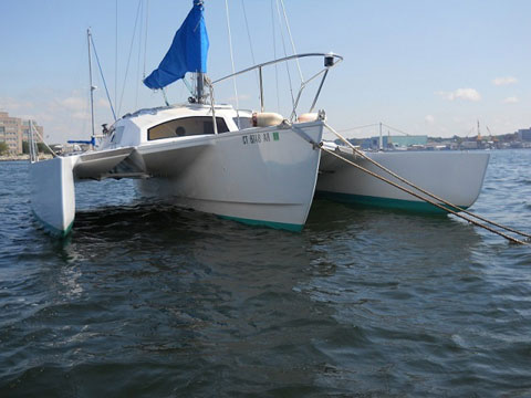 Telstar Trimaran, 26 ft., 1974 sailboat