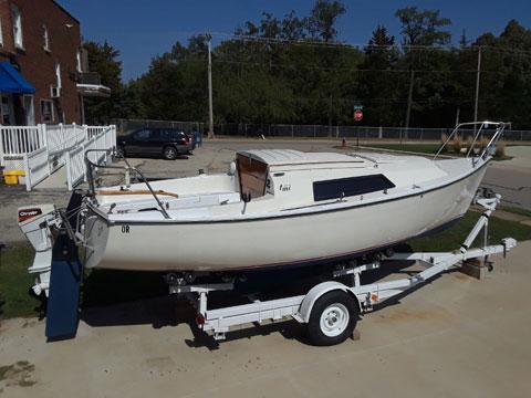 Texas Marine International, 1981 sailboat