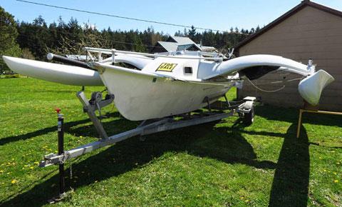 Tremolino T-Gull 23 Trimaran, 1993 sailboat