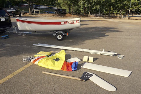 Trinka 12, 1993 sailboat