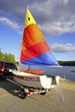 1993 Trinka 12 sailboat