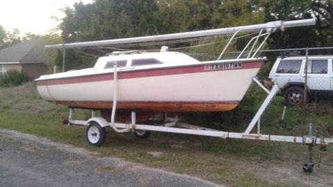 Vagabond 17, 1983 sailboat