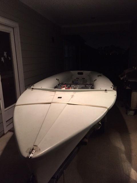 Vanguard 15' sailboat