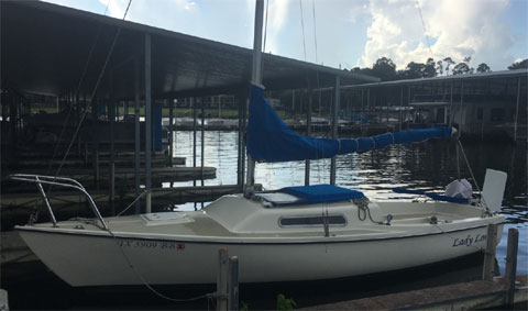 Macgregor Venture 21ft., 1974 sailboat