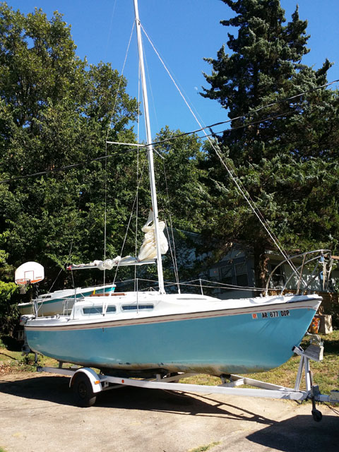 Venture 25, 1974 sailboat