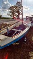 1970s Wayfarer 16 sailboat