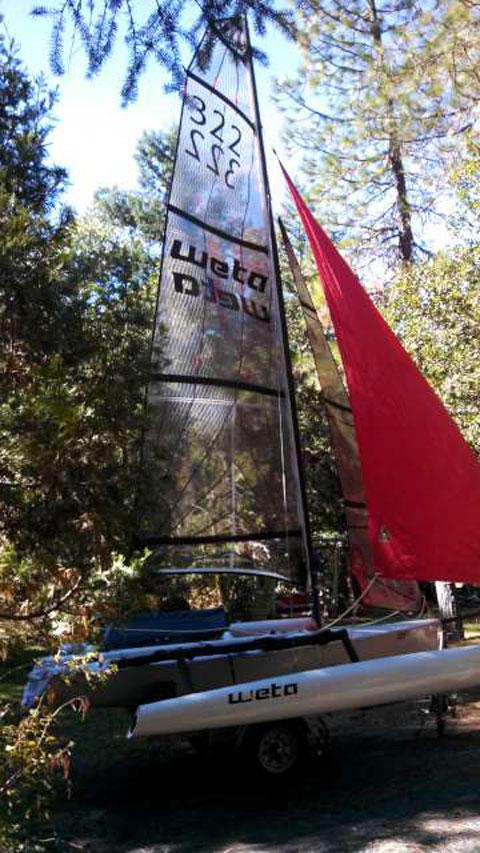 Weta 4.4 Trimaran, 2010 sailboat