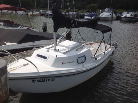 West Wight Potter 15, 2007 sailboat