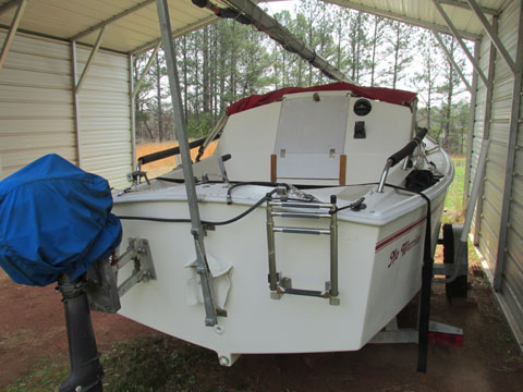 Weat Wight Potter 19, 2000 sailboat