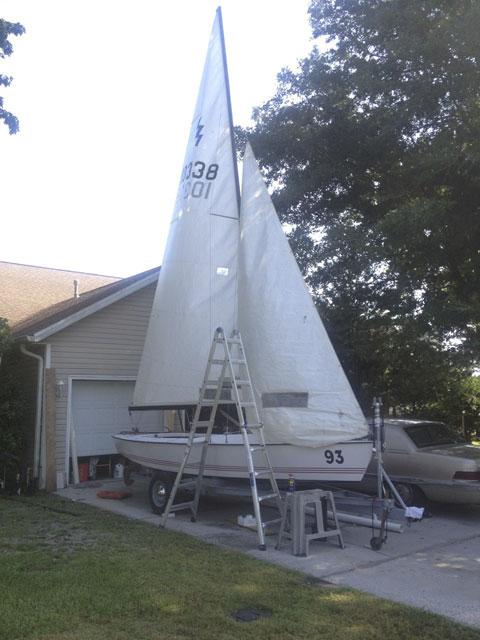 Lightning, 1984 sailboat