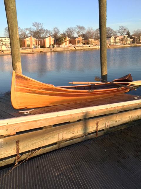Adirondack sailboat